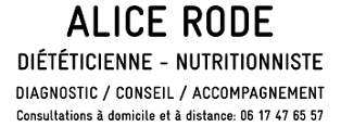 Diététicienne, nutritionniste - Alice Rode